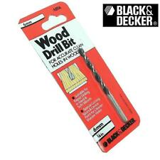 BLACK & DECKER A8114 Wood Drill Bit 6 mm Bradpoint Lip and Spur Dowel Drill   PE