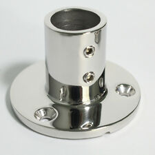 Boat Hand Rail Fittings 90 Degree 1''Round Stanchion Base-Marine Stainless Steel