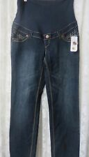 THYME MATERNITY JEANS 3 N 1 SIZE S/P NWT Comfort Straight