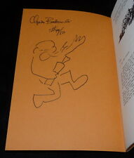 Bukowski - Good-By To Hollywood - 1/50 SIGNED with drawing - in Wormwood 81-82