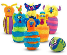 Melissa & Doug Monster Bowling Weich Spielzeug Baby/Kleinkind/Kind Geschenk Neu