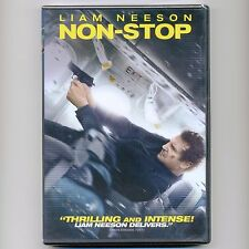 NON-STOP 2014 PG-13 mystery action thriller movie, new DVD Liam Neeson, Dockery