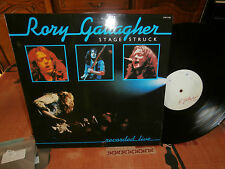 """rory gallagher""""stage struck(live)""""""""lp12""""or.fr.chr1280-édition promo ultra rare"""