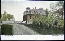 CANADA ~ 1900's SUMMERSIDE  P.E.I. ~ HIGH SCHOOL