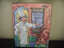 """LOUIE'S LUNCHEON Canvas Picture From Kirklands - 8"""" X 10"""" - MINT! NEW!"""