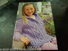 Sirdar Aran Childs Pattern 2126