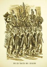 Napoléon Bnoaparte Légions Armée d'Orient Discours 22juin 1798 Decaris 1952 52cm