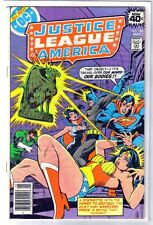 JUSTICE LEAGUE of AMERICA #166 What Nameless Force! DC Comic Book ~ FN