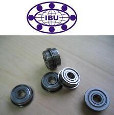 10 Stk. IBU Kugellager mit Flansch / Bundlager F608 ZZ = FL608-2Z  8x22x7 mm