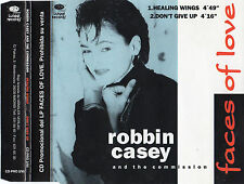 "ROBBIN CASSEY AND THE COMMISSION ""HEALING WINGS"" RARE SPANISH PROMO CD SINGLE"