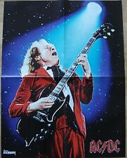 Angus Young [ AC/DC ]  /  Powerwolf  __  1 Poster /  Plakat  __  44,5 cm x 58 cm