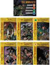 THE DARKNESS IMAGE OVERPOWER COMPLETE SET  HERO & 6 SPECIALS DEMIGOD OF THE DARK