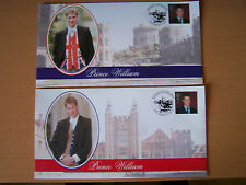 2 GREAT BRITAIN.PRINCE WILLIAM COVERS,NICE.