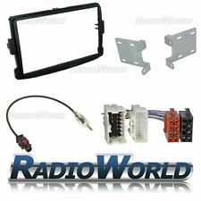Dacia Sandero Double Din Car Stereo Radio Fitting Kit Fascia ISO Aerial Adaptor