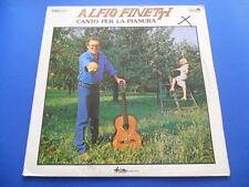 Alfio Finetti - Canto per la pianura -  LP 1982