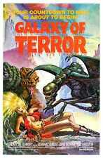Galaxy Of Terror Poster 01 A3 Box Canvas Print