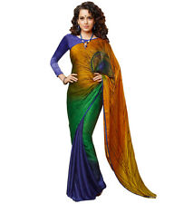 Bollywood Designer IndianTraditional Ethnic Bridal Party Wear New Saree WFS1042