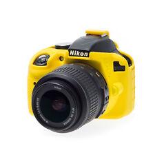 easyCover camera case protezione per Nikon D3300/D3400 Yellow