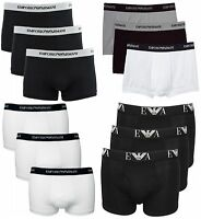 MENS EMPORIO ARMANI DESIGNER BOXERS TRUNKS SHORTS BRIEFS UNDERWEAR UNDERPANTS