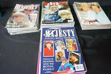 58 Issues Majesty Royal Magazine Vol 6, No 6-12, Vol 7, No 1-12, Oct 85-Apr 87