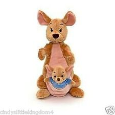 "New Disney Winnie The Pooh Large 12"" Kanga with 4"" Roo Soft Plush Doll Toy"