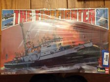"Revell The Firefighter Harbor Fire Boat Model Kit ""SEALED"" Ships FREE"