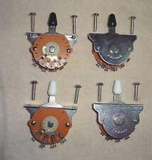 4 Lot of 5 WAY LEVER BLADE SWITCHES US  STRAT STYLE MIGHTY MITE  Electric Guitar