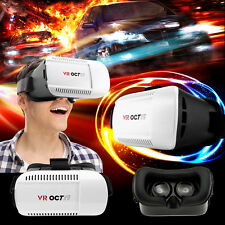 3D Glasses Virtual Reality Game VR Headset For Android IOS iPhone Samsung