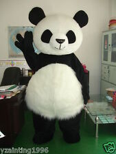 Cheap New wedding Panda Bear Mascot Costume Fancy Dress Adult Size