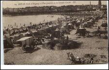 Royan Frankreich France CPA 1926 Cote d'Argent Vue générale de la grande conche