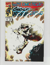 MARVEL COMICS PRESENTS #94 SIGNED BY BUD LAROSA INKER GHOST RIDER CABLE 1991 NM