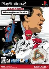 Used PS2 J-League Winning Eleven Tactics   Japan Import (Free Shipping)