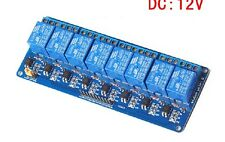 8-Kanal Relais Modul 12V Optokoppler 8-Channel Relay for Arduino