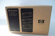 HP 90 DesignJet 4000 Ink Cartridge Cyan 3-Pack 400ml 4000ps C5061A C5083A NEW