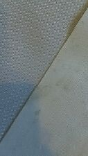 1 Yard 1000d White Water Resistant Coated Nylon HEAVY FLAWED Fabric Remnant