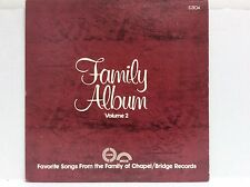 Favorite Songs from the Family of Chapel Volume 2 7th Day Adventist vinyl LP