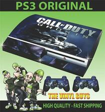PLAYSTATION 3 / PS3 COD CALL OF DUTY GHOSTS 001 STICKER SKIN & 2 PAD SKINS