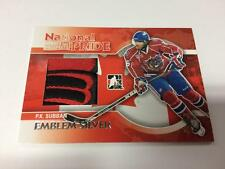 2010-11 ITG H&P HEROES PROSPECTS NATIONAL PRIDE EMBLEM SILVER /3 PK SUBBAN