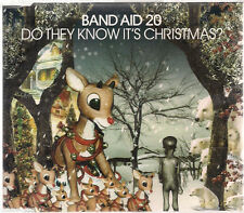 Band Aid 20 Do They Know It's Christmas? 3 versions UK CD Single