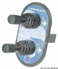 LEWMAR Marine Boat Bow Thruster Control Panel Double Joystick LEFT/RIGHT/POWER