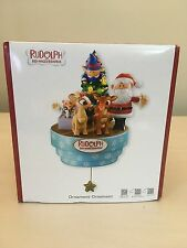 Used Rudolph the Red Nosed Reindeer Heirloom American Greetings Holiday ornament