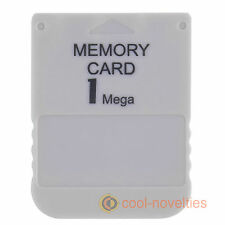 SONY PLAYSTATION 1, PS1, PSX, ONE MEMORY STORAGE CARD 1MB FOR GAME SAVES