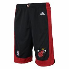 ($28) ADIDAS Miami Heat nba Basketball Jersey Shorts YOUTH KIDS BOYS (L-LARGE)