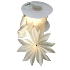 IVORY Star PULL JORDAN ALMONDS CANDY BOW Ribbon decorations wedding favors -