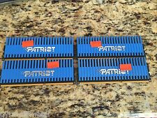 PATRIOT 4GB  4 x 1GB Each PVT33G1333LLK Viper Series PC3-10666 DDR3 1333 Memory