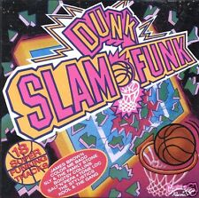 SLAM DUNK FUNK ~ 18 Super Funking Tracks ~ CD Album ~ GC!