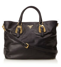 100% Authentic Prada Shopping Tote Bag, Nero  - Tag $2,400
