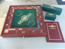VINTAGE 1991 FRANKLIN MINT COLLECTORS EDITION MONOPOLY SET CARDS STILL IN PLASTI