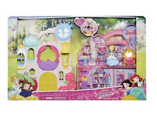 Disney Princess Little Kingdom Play N' Carry Castle Play Set And Cinderella Doll