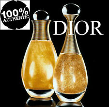 100%AUTHENTIC BEYOND RARE DIOR JADORE 24k GOLD GLITTER SHIMMERING DRY OIL PARFUM